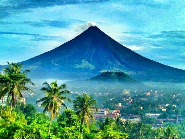 The perfect cone volcano in the Philippines, Mt. Mayon. Majestic, breath-taking, magayon (beautiful in the local dialect).