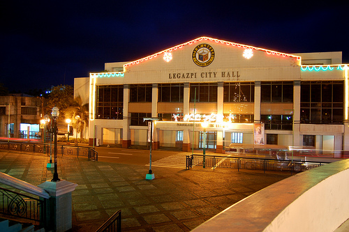The seat of the local government of Legazpi City. The pride of Legazpi is no other than the Legazpeno, kindhearted and welcoming bunch of people.
