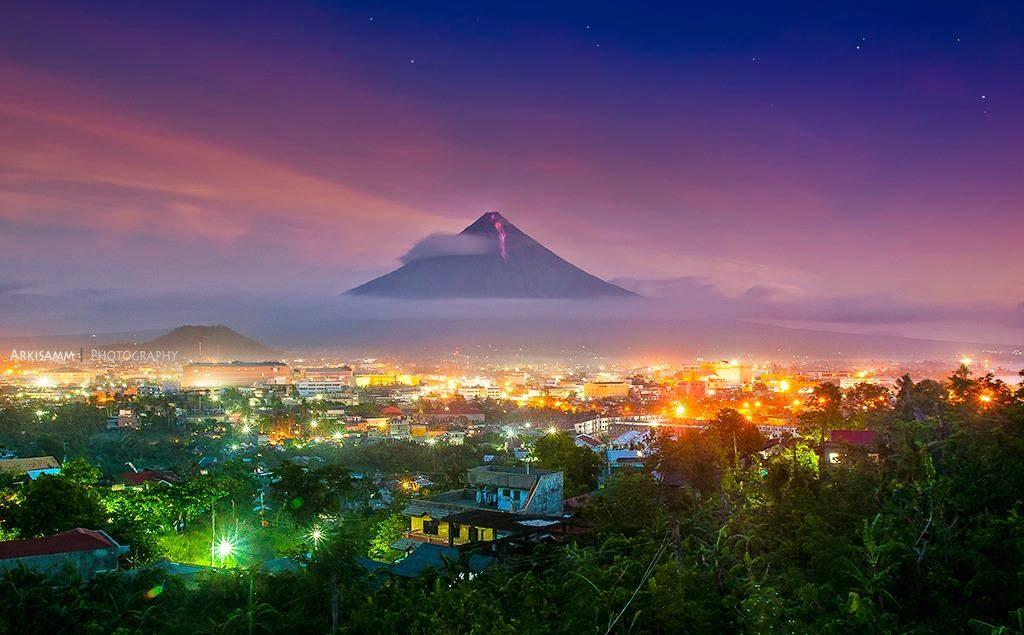 Mayon Volcano Eruption 2014 - Legazpi City, Albay