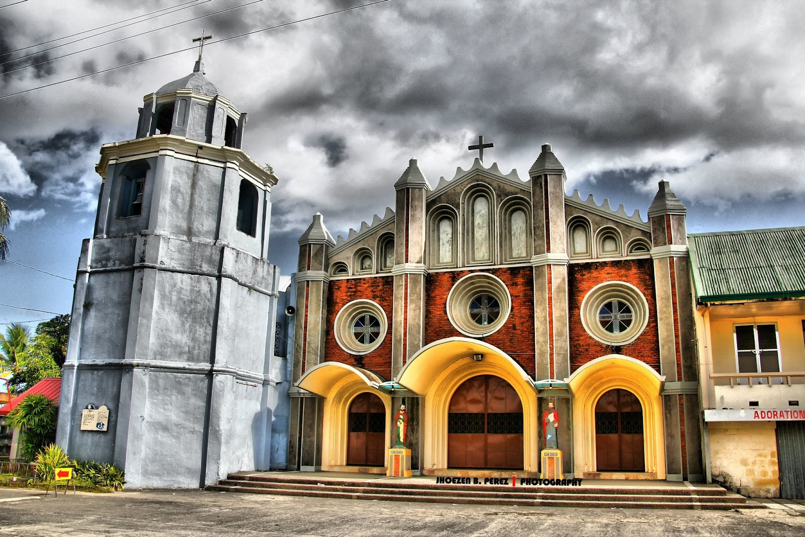 Polangui Church in Polangui, Albay